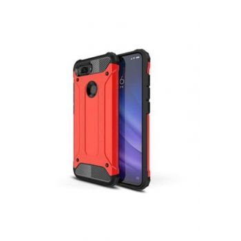 Mi 8 Lite Crash Case Red Klf-21