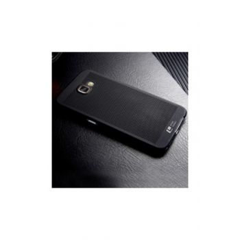 For Samsung Galaxy A7 2016 (A710) Loopee Point Back Cover Black 42146141