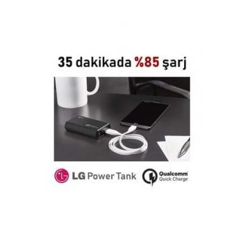 Power Tank 6700 mAH Powerbank - 4 Times Fast PMC-610