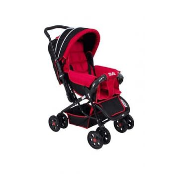 Lucıdo Two Way Baby Stroller Red Black RV102