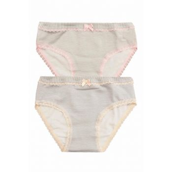 Girls' Pink-Powder 2'Li Panties 41038-1 41038-1-ph02