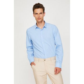 Men's Blue Shirt 9KAM69819VW