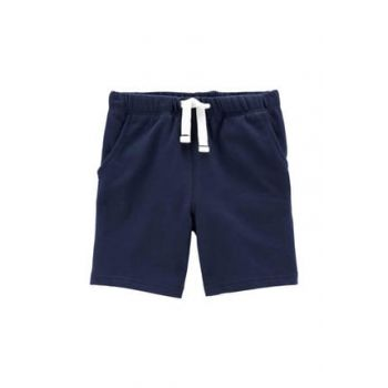 Navy Blue Boy Shorts 248H018