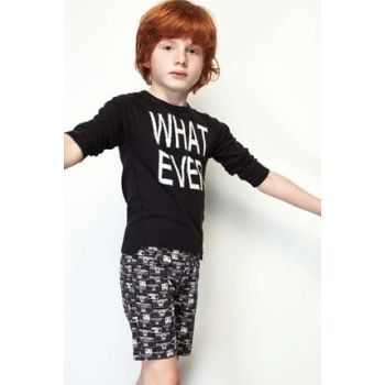 Boys' Black Pullover 19SS0NB3404