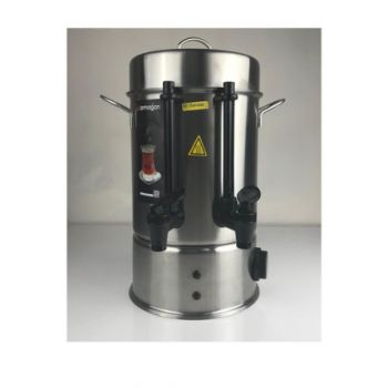 Gift 60 Glass 1500W Steel Thermostatic Samovar Black-Plastic KEA-CYC-ARM-0006
