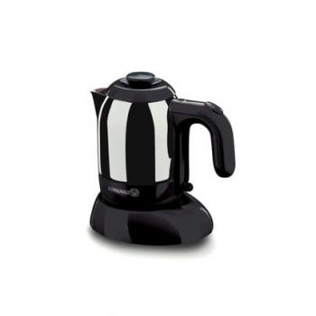 Mia Inox / Black Electric Coffee Pot Machine 9030401A475-03
