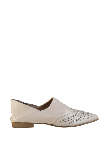 Genuine Leather Skin Color Women Shoes 01AYH120620A330