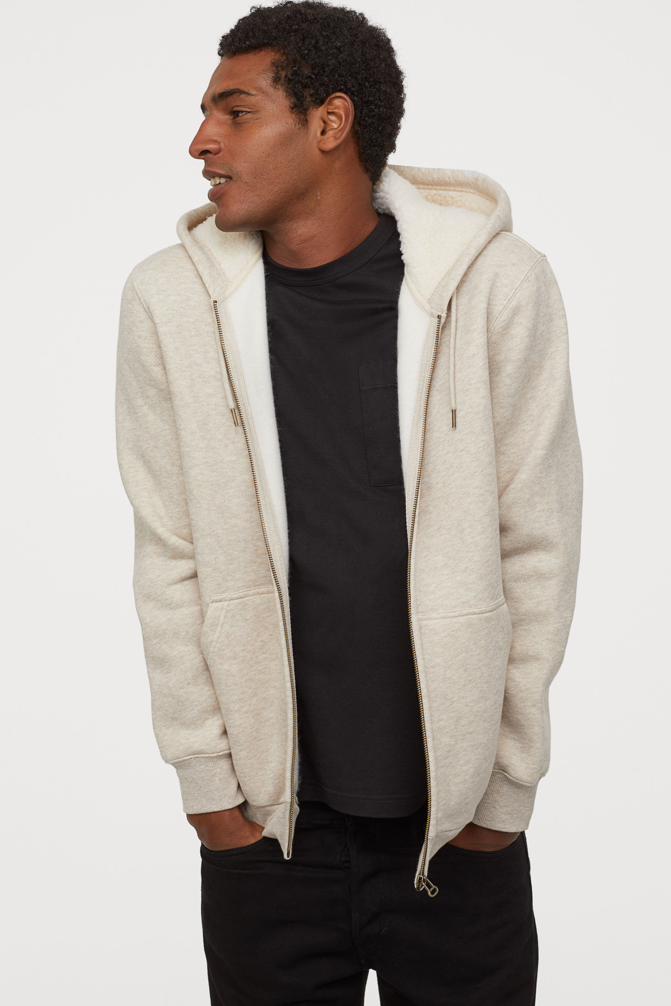 Hooded Down Lined Jacket