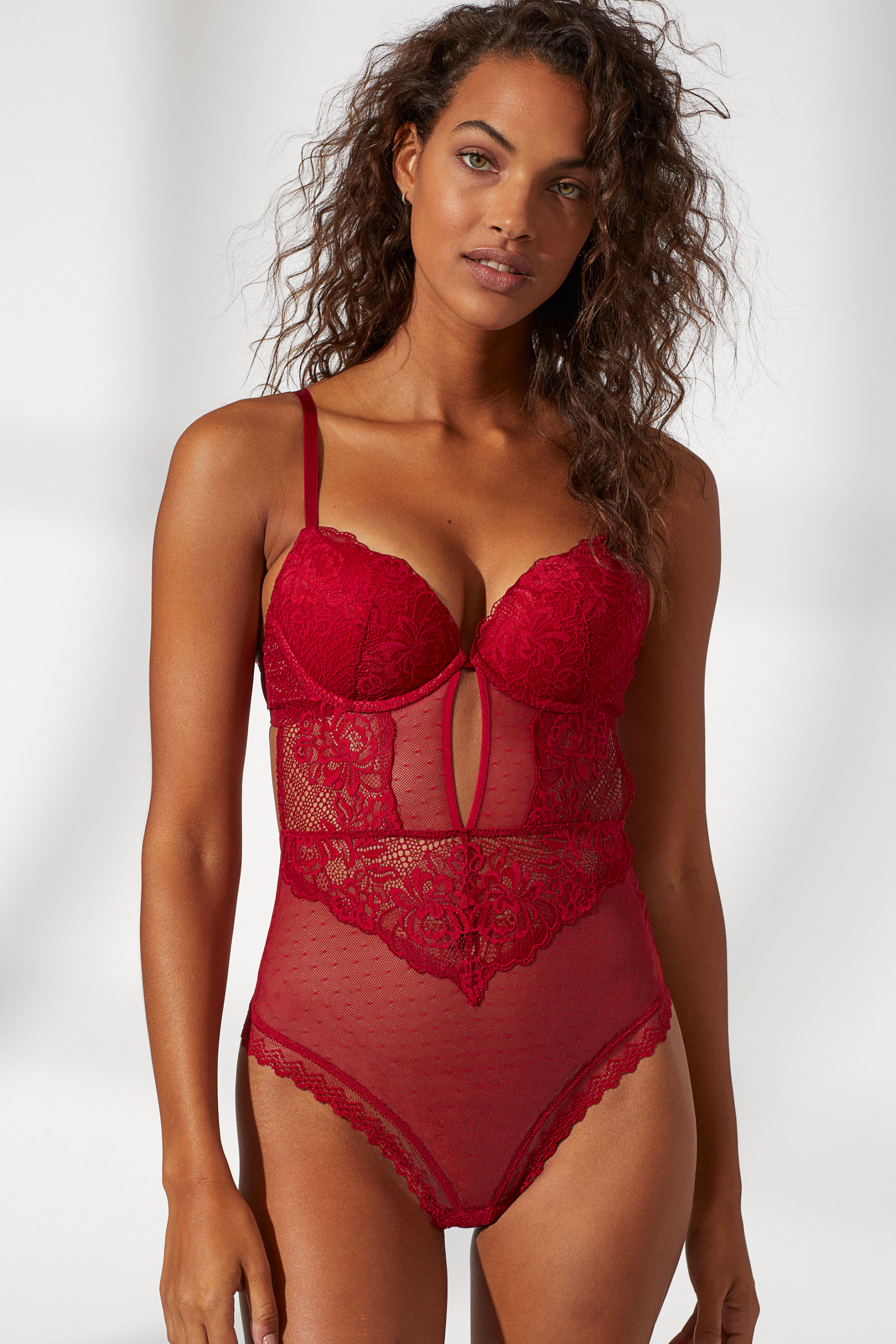 Super Push-up Lace Body