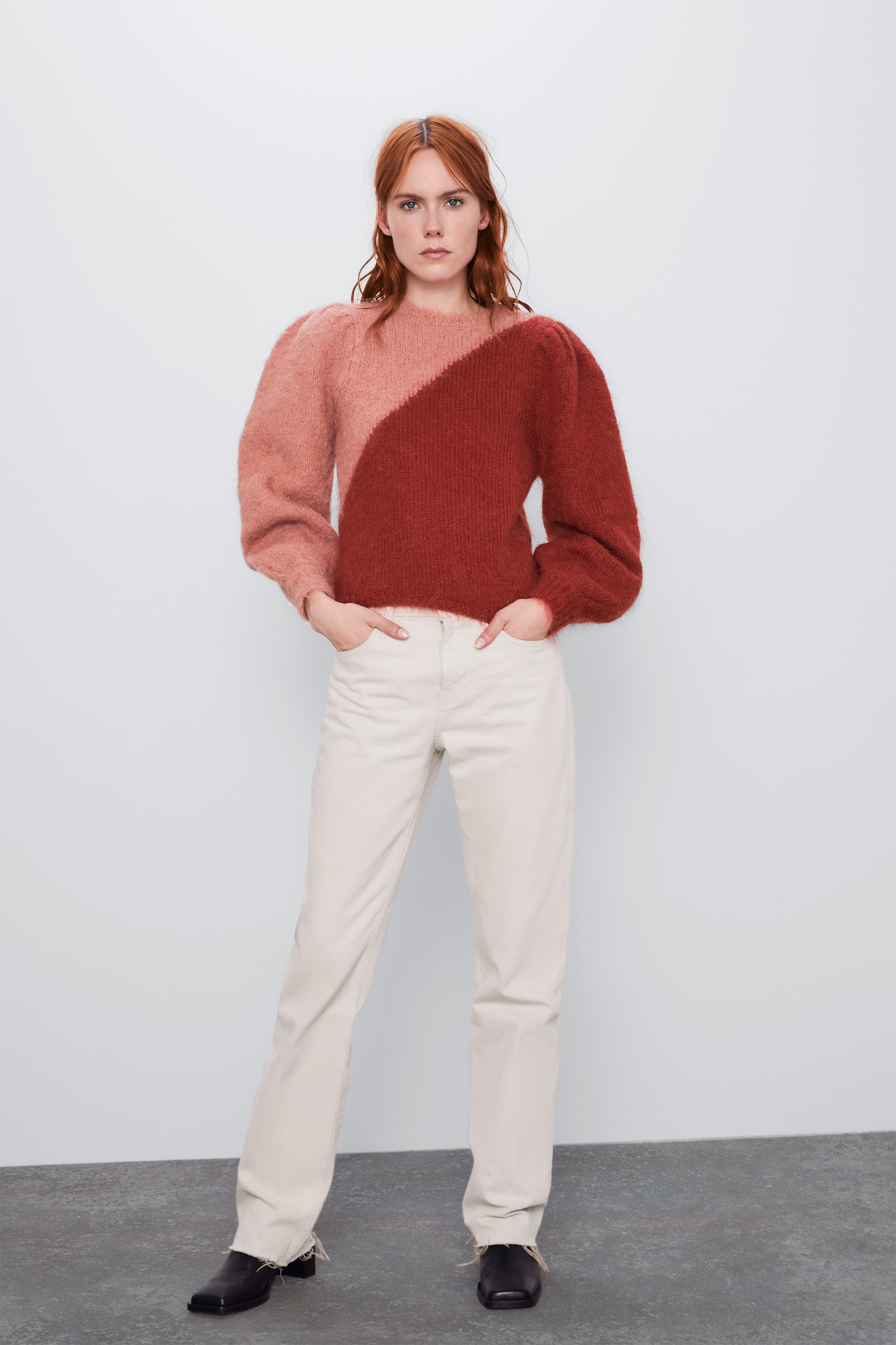 LIMITED EDITION COLOR BLOCK SWEATER