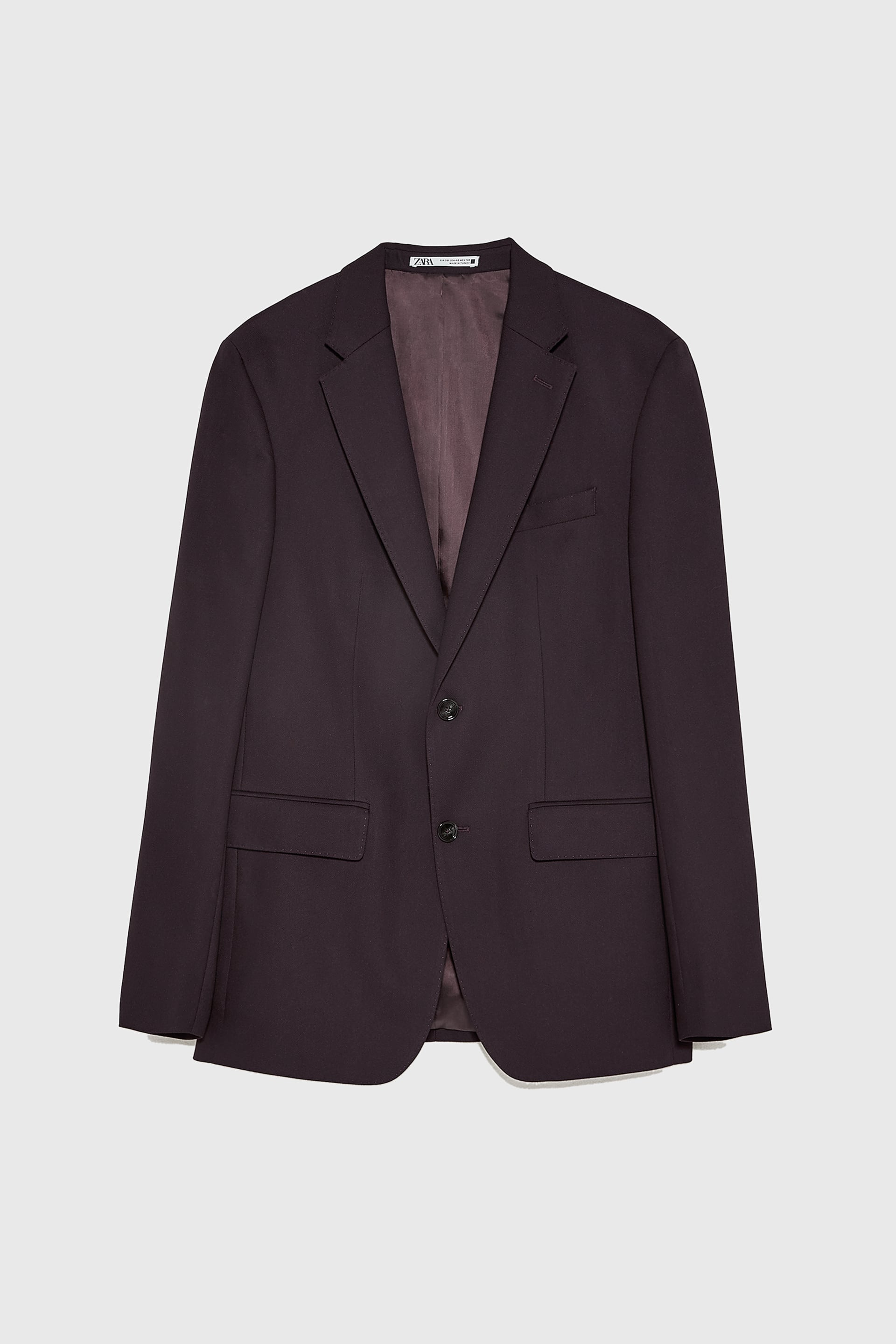 BIRD'S-EYE TEXTURED BLAZER