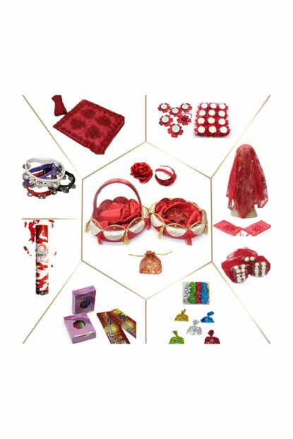 Henna Supplies Henna Night Henna Kit 310 Piece Henna Package KN0076