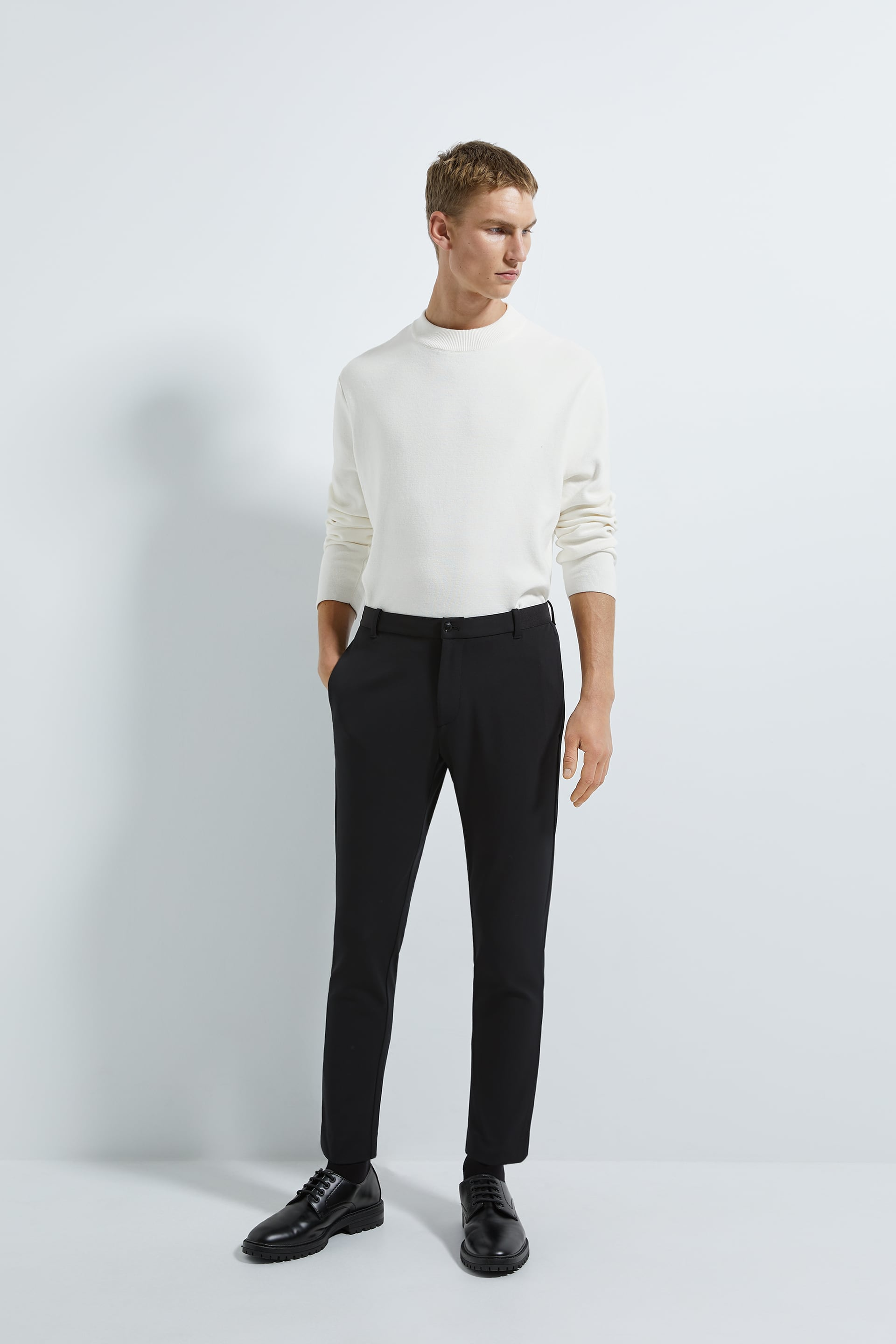 COMFORT KNIT TRAVELLER TROUSERS