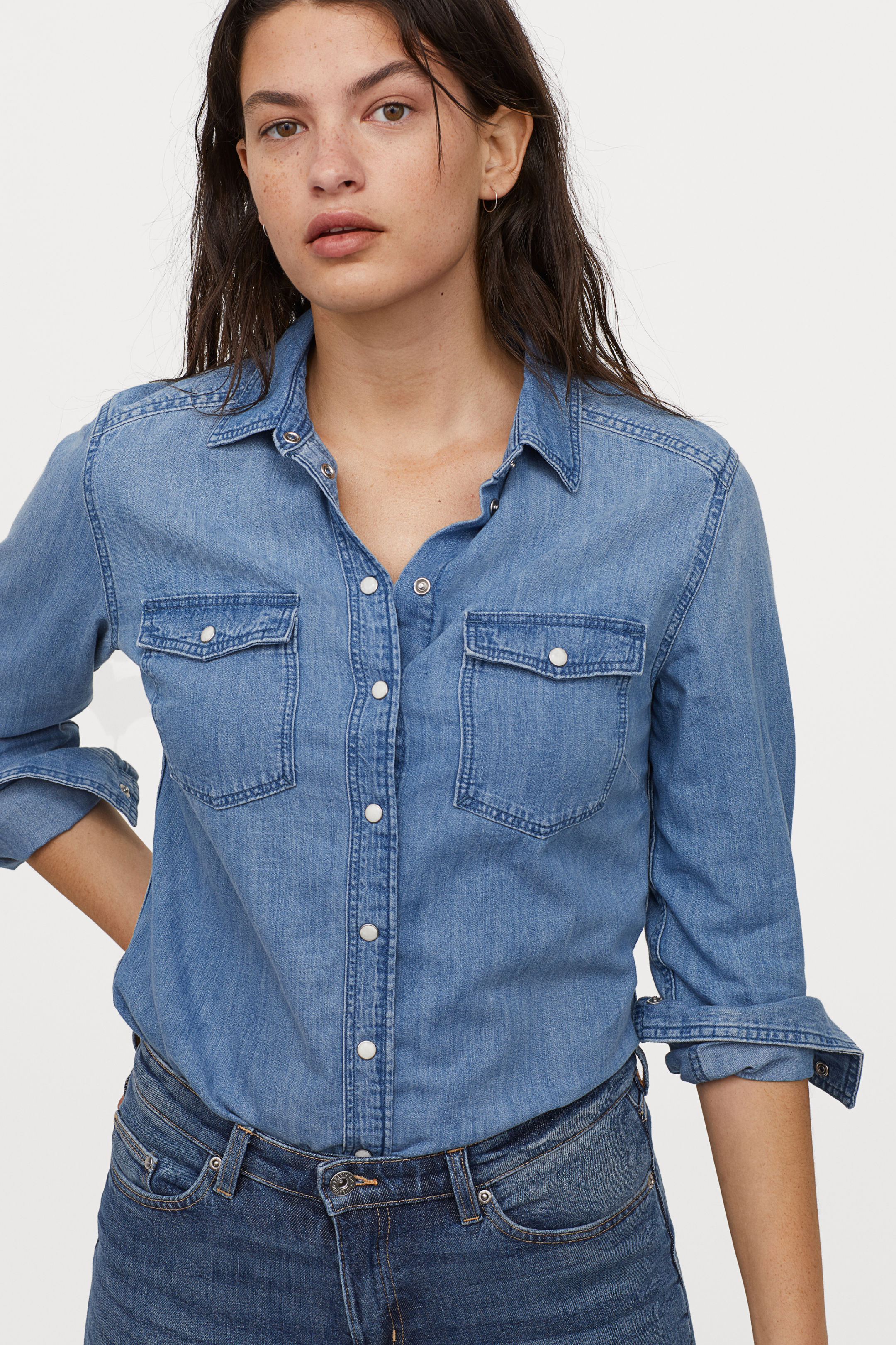 Body Sitting Jeans Shirt