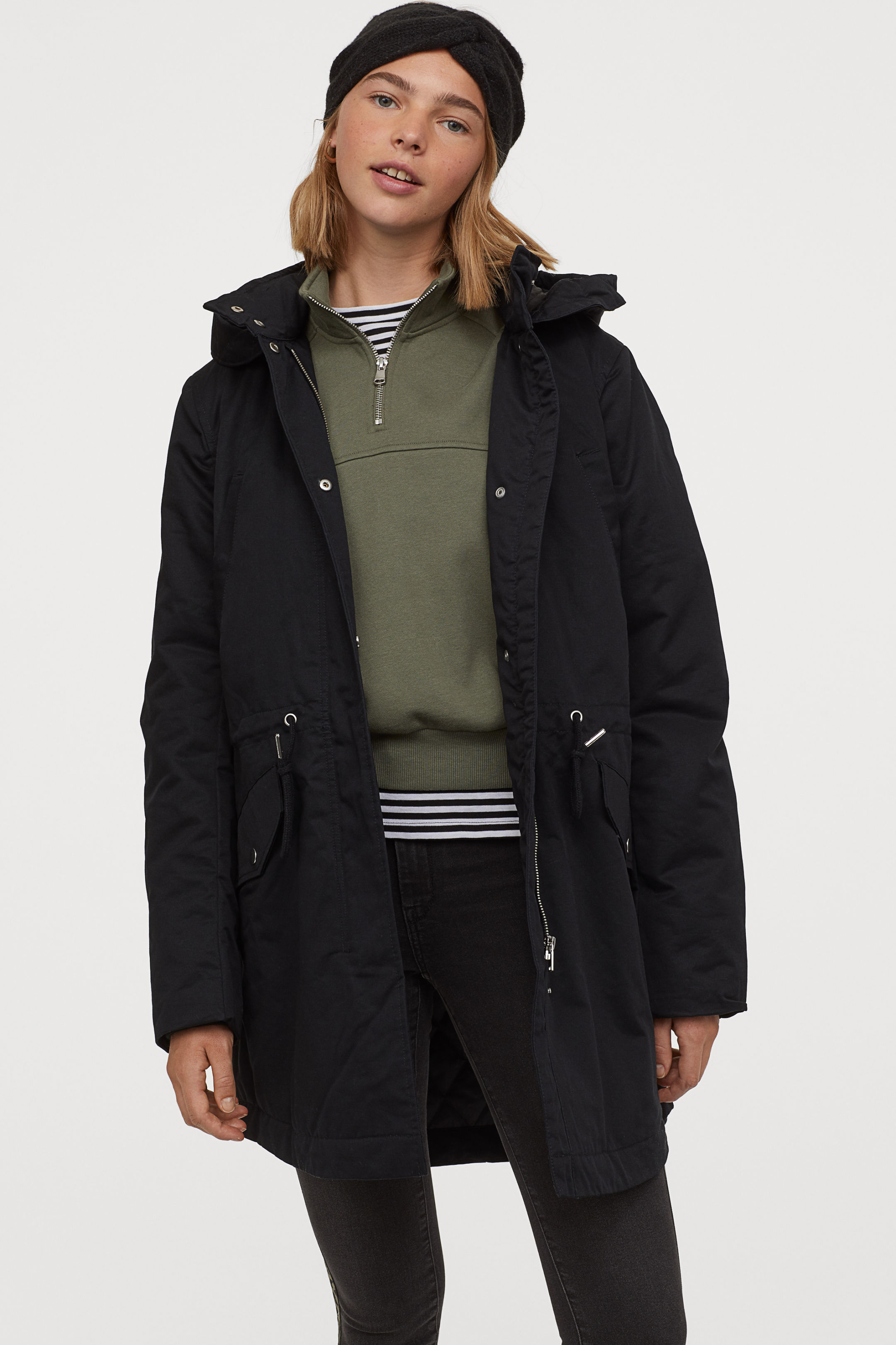 Filled Parka