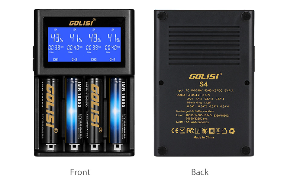 GOLISI S4 CHARGER