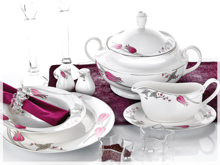 86 Pcs. La Luna Dinner Sets