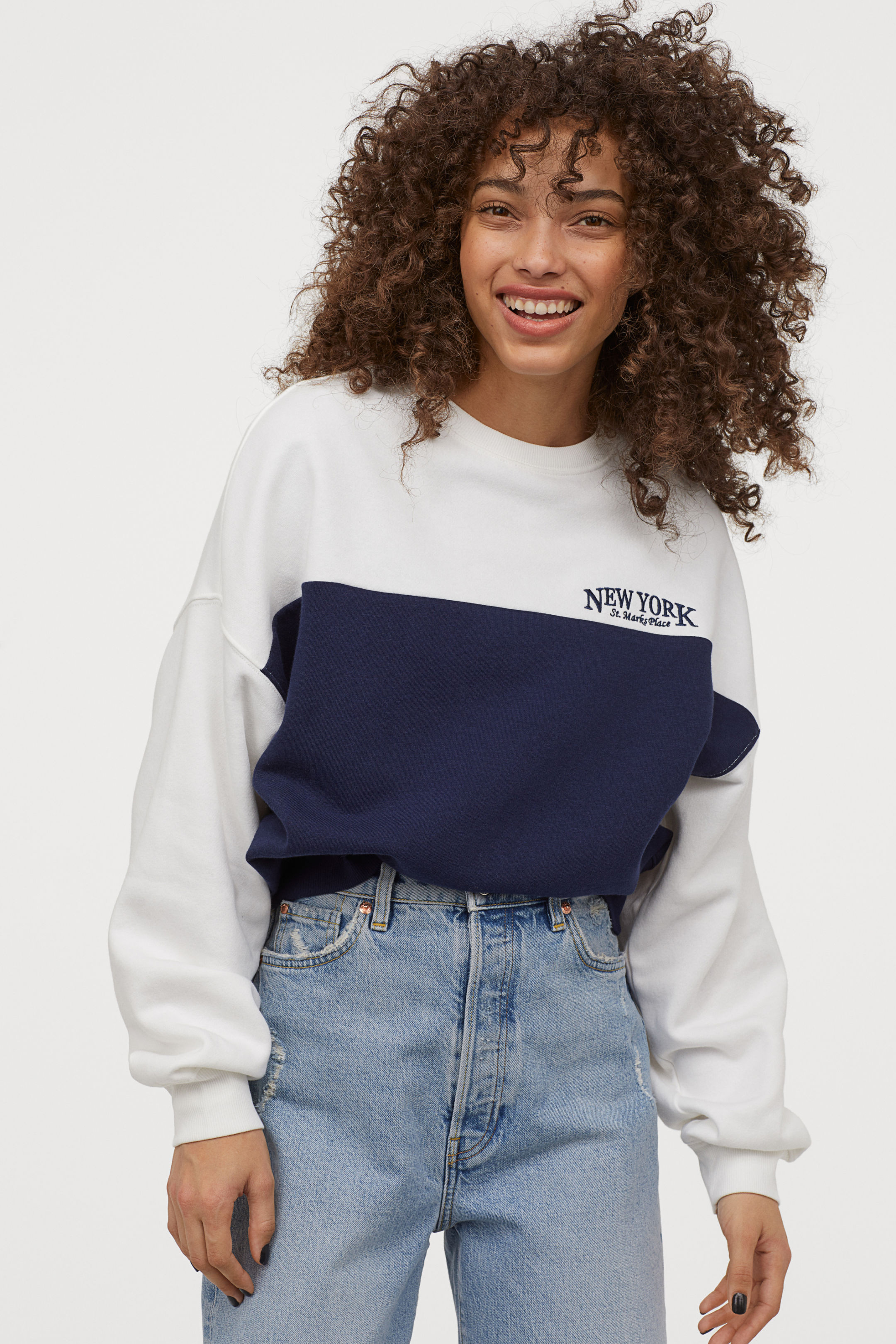Short and Wide Sweatshirt