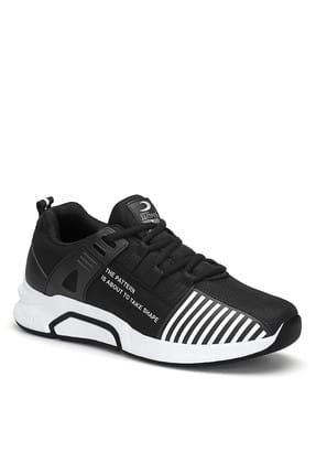 Black and White Men's Sneaker MRC.1797E