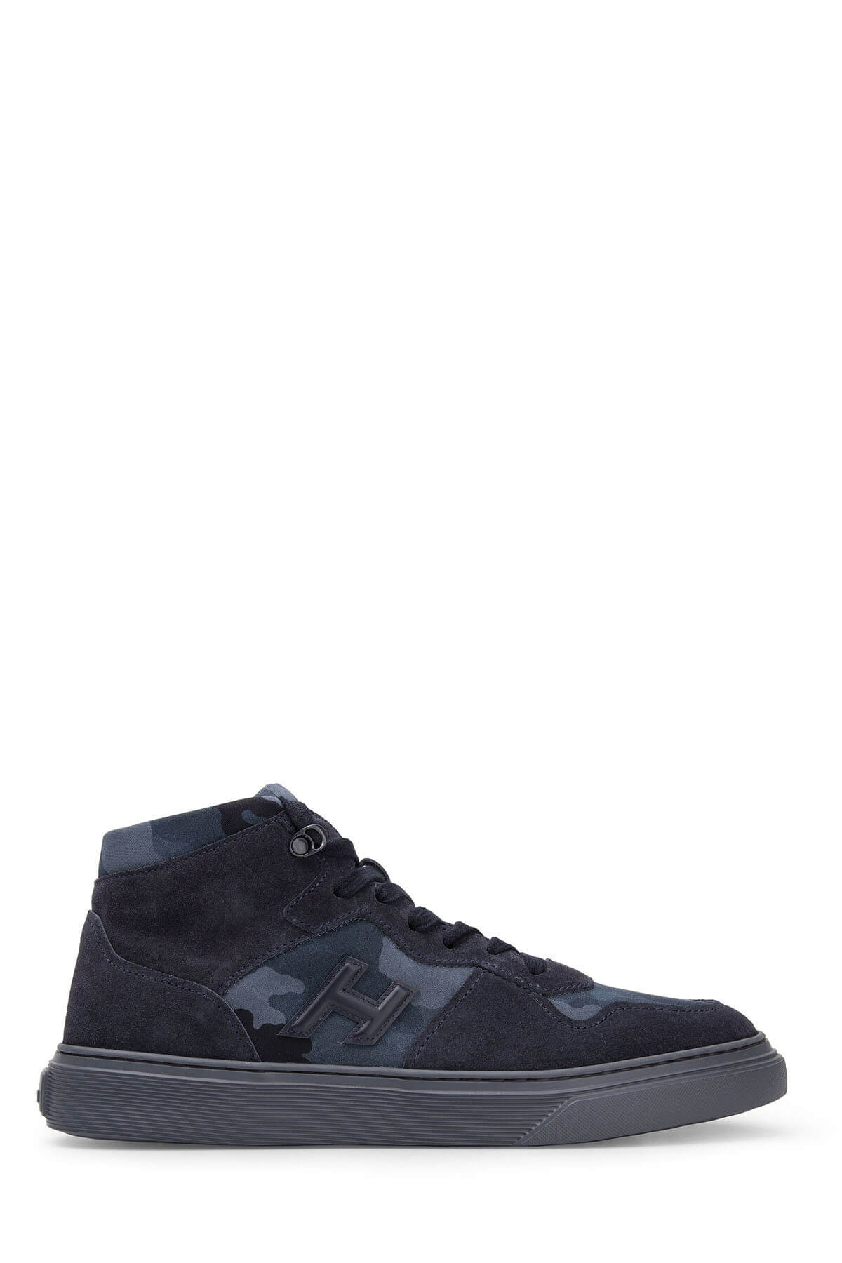 HOGAN Men's Dark Navy Blue Boots & Bootie Hxm3650Am70Jgd6Eet HXM3650AM70JGD6EET
