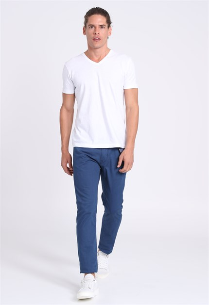 Slim Fit Chad Spor 5 Cep Pantolon
