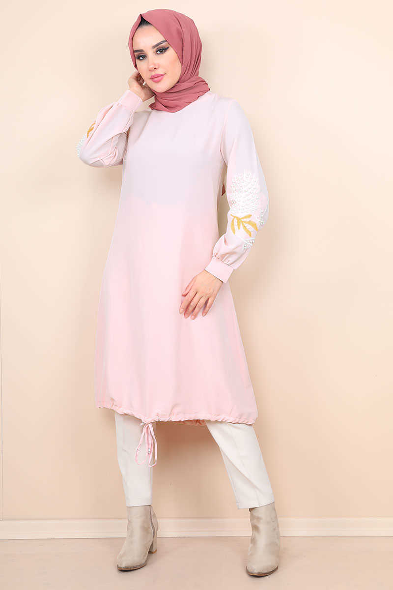 Powder Hijab Tunic