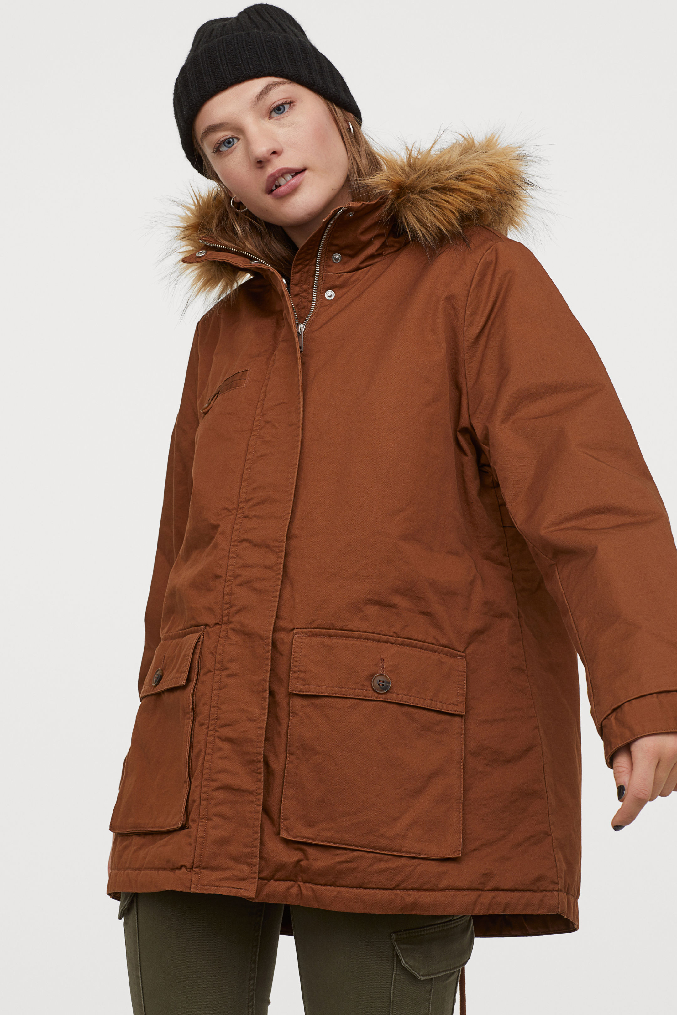 Hairy Lined Parka