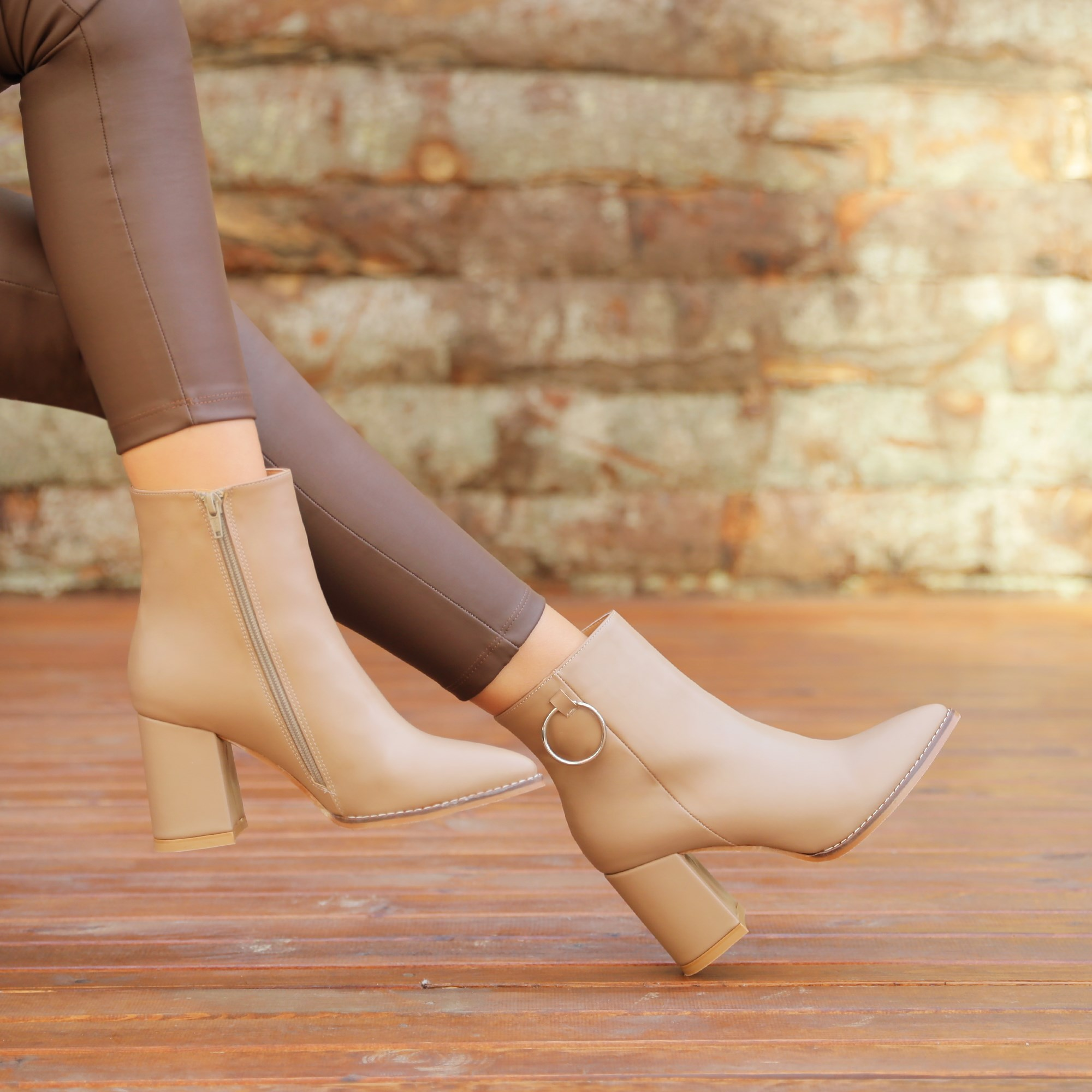 Fitimi Mink Color Boots