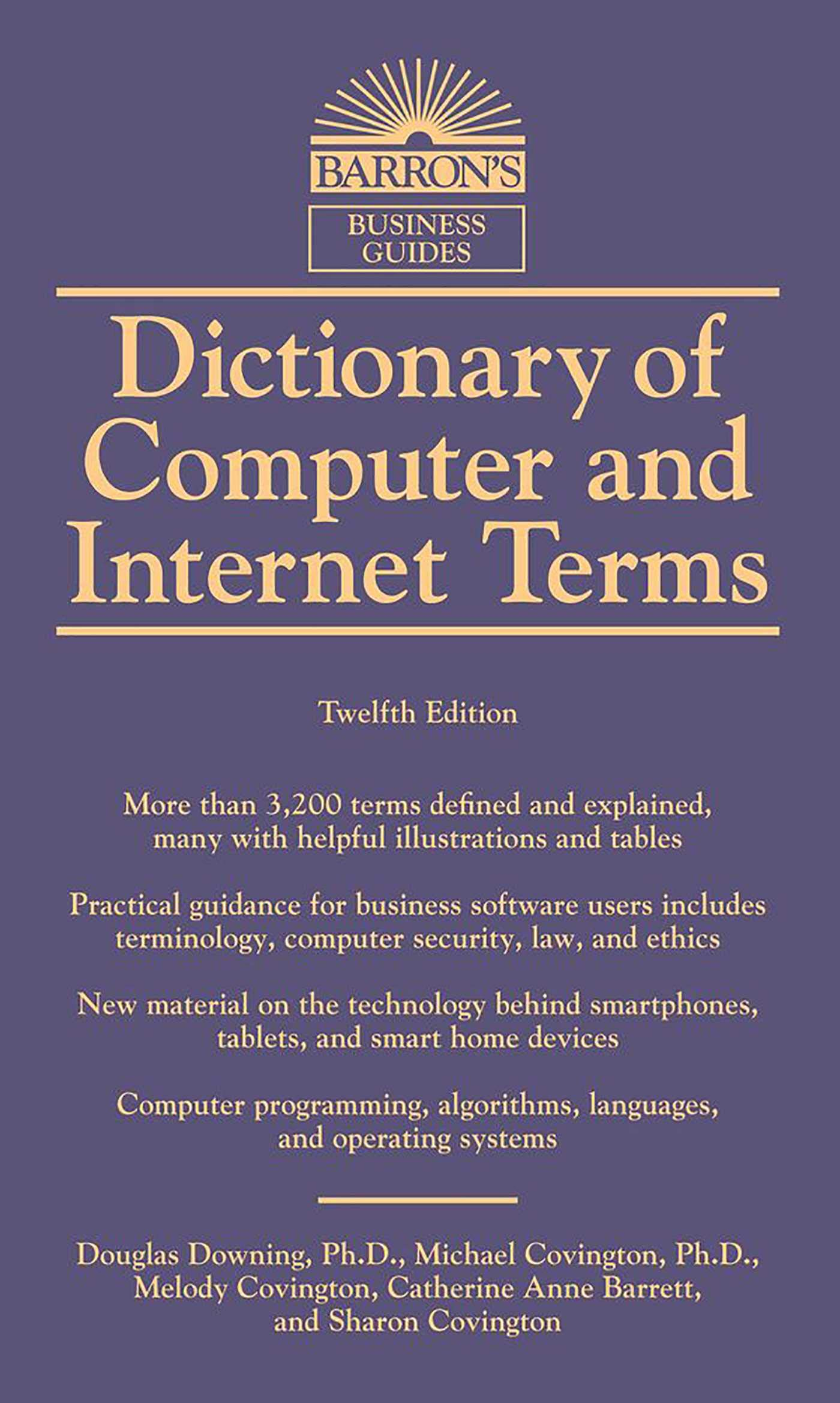 Barron's Dictionary of Computer and Internet (English), Douglas Downing