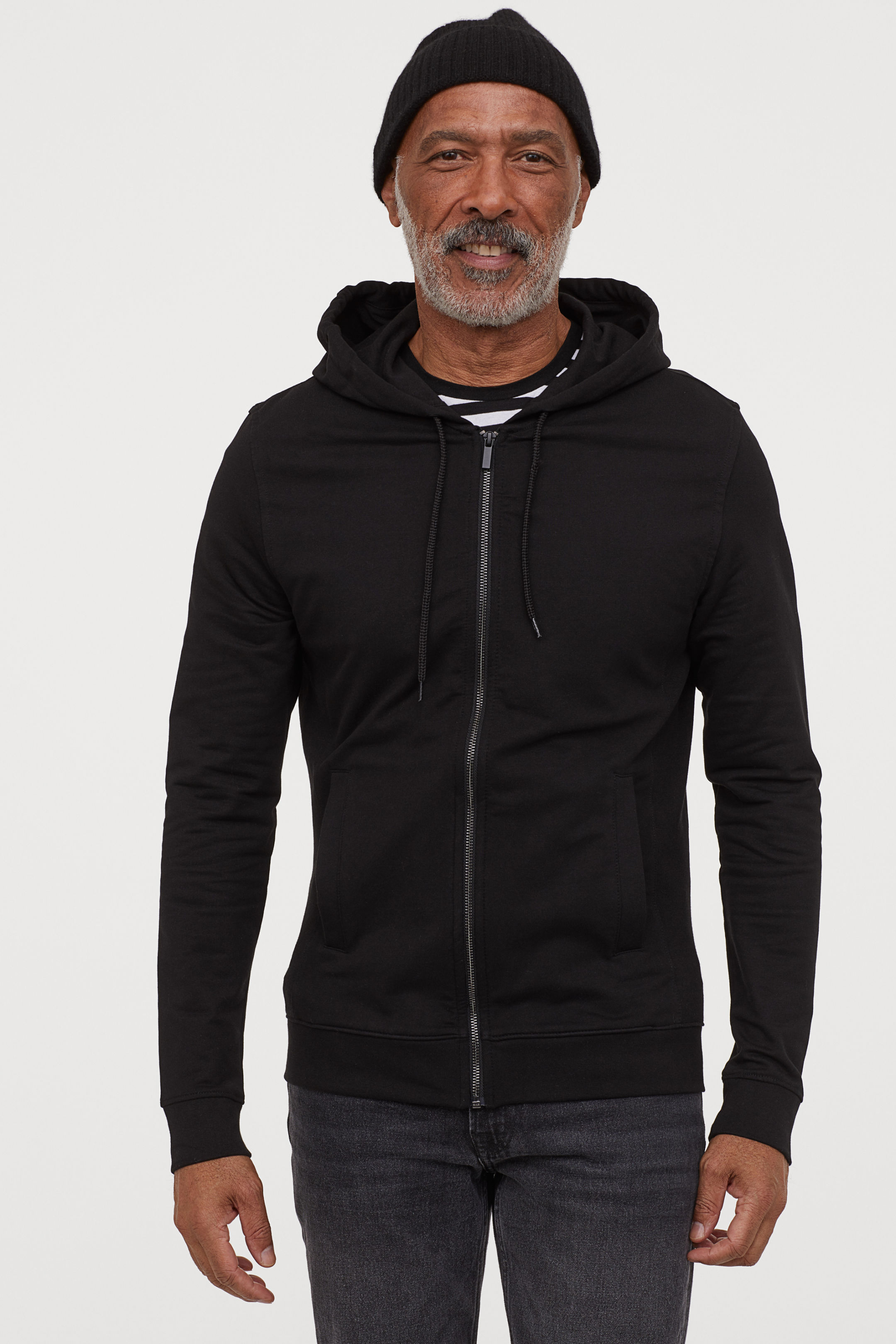 Hooded Sweatshirt Slim Fit