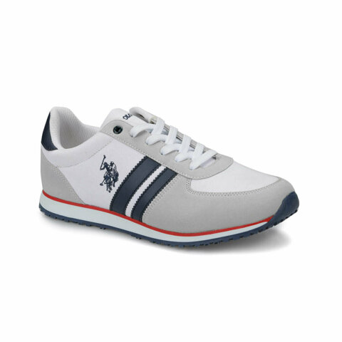 Plus White Mens Sneaker Shoes
