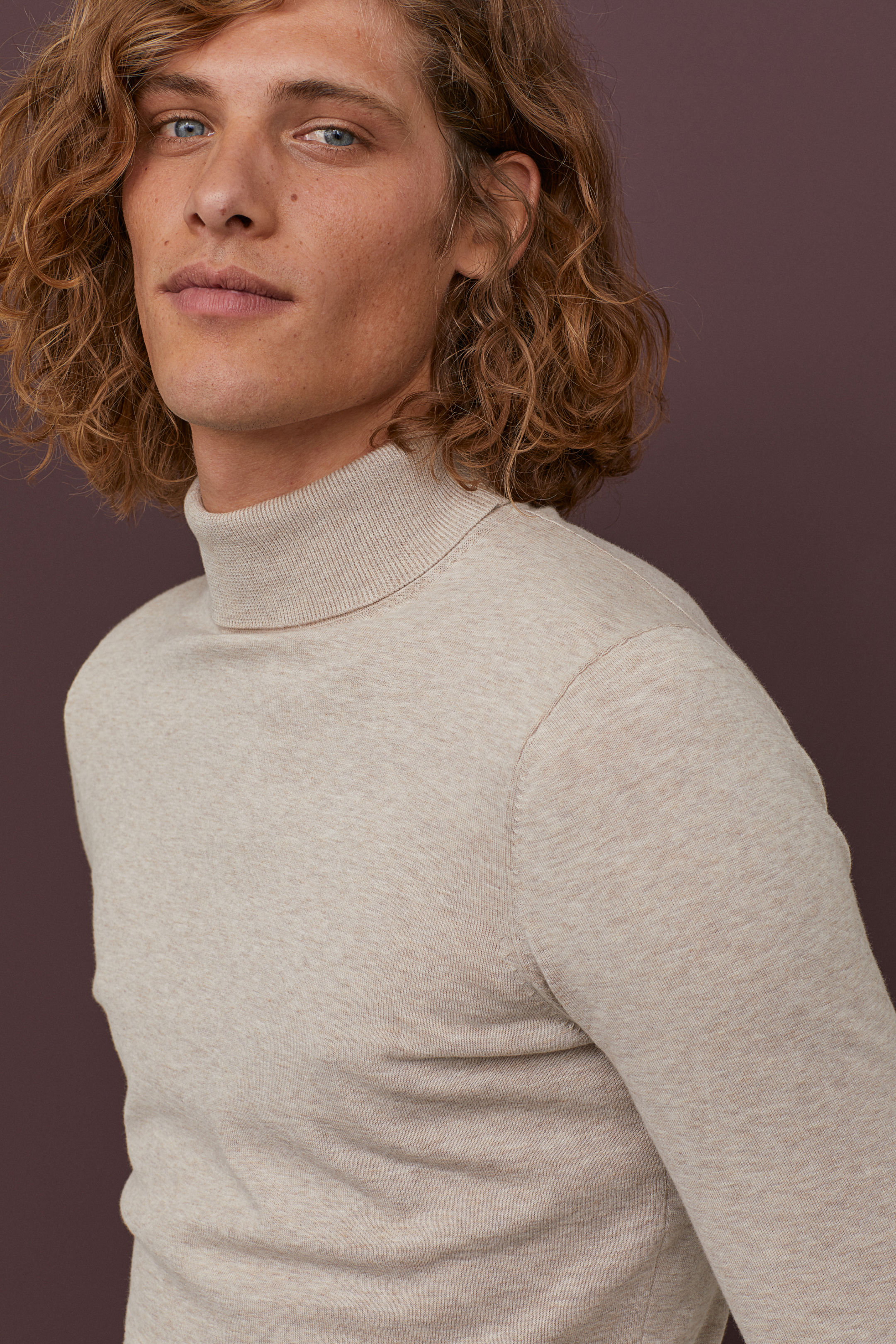 Turtleneck Sweater Muscle Fit