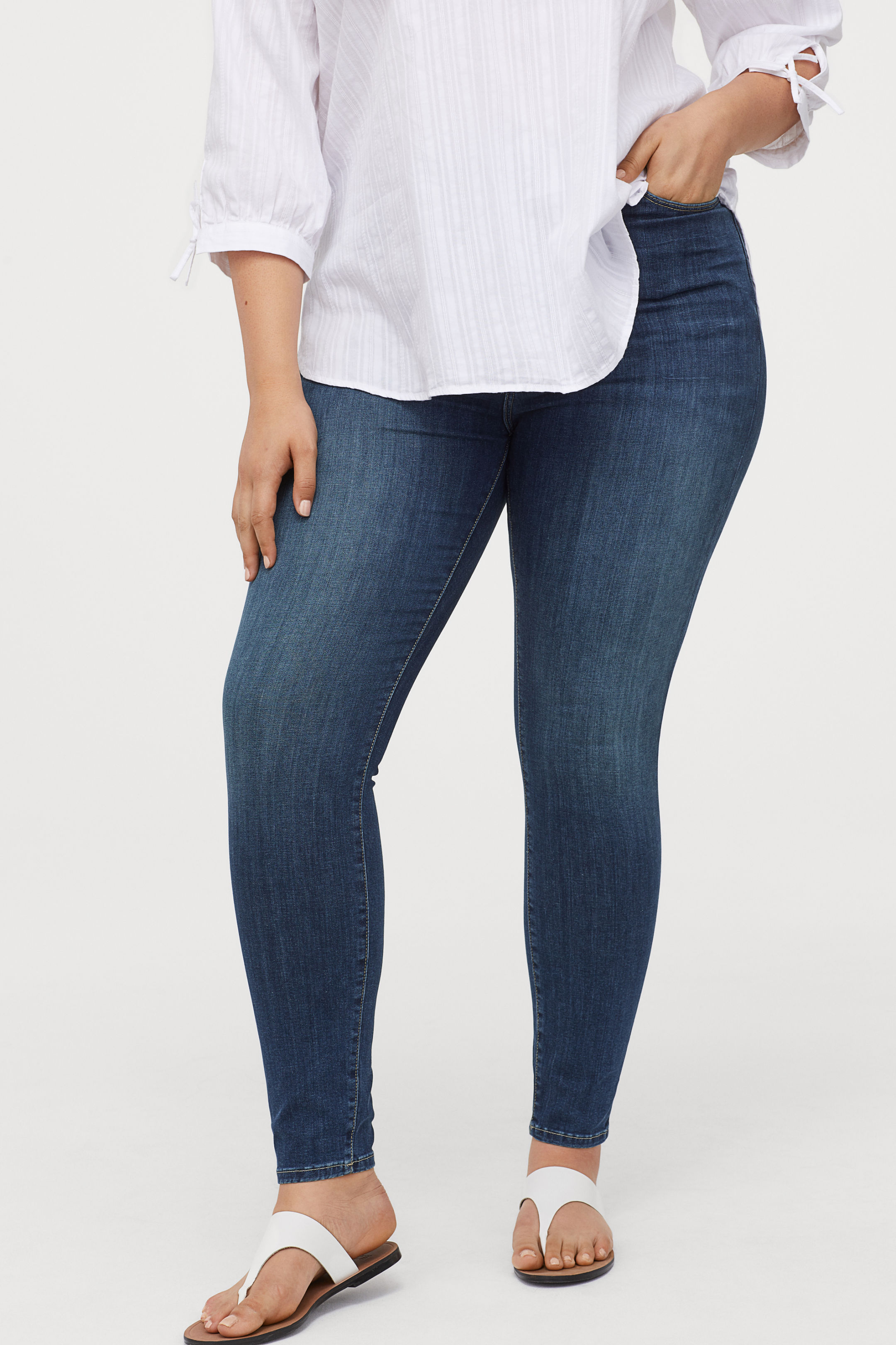 H & M + Shaping High Jeans