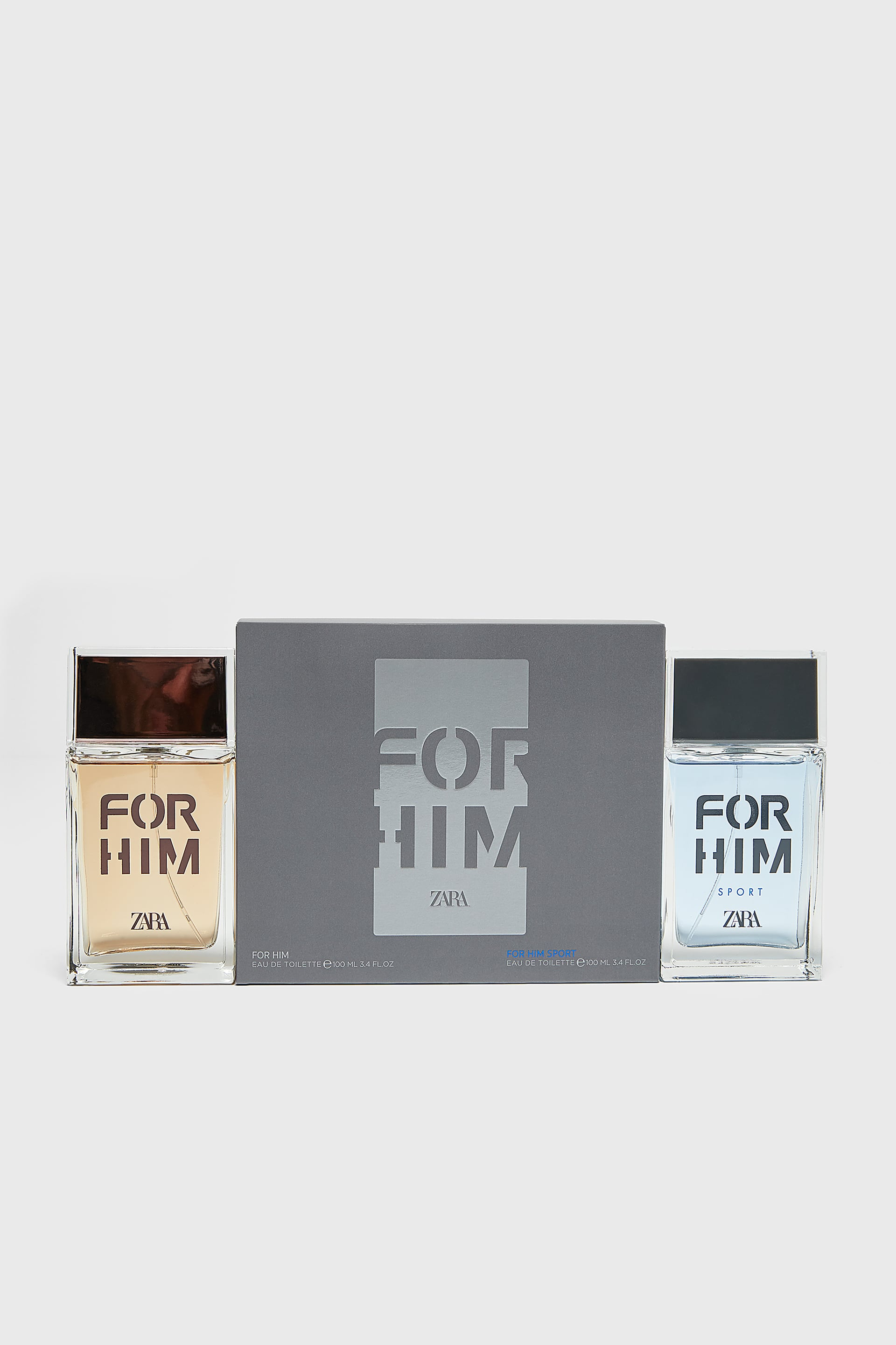 FOR HIM + FOR HIM SPORT 100ML / 3.38 OZ