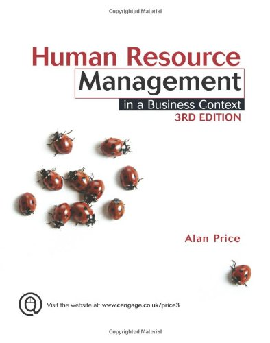 Human Resource Management in a Business Context (English), Alan Price
