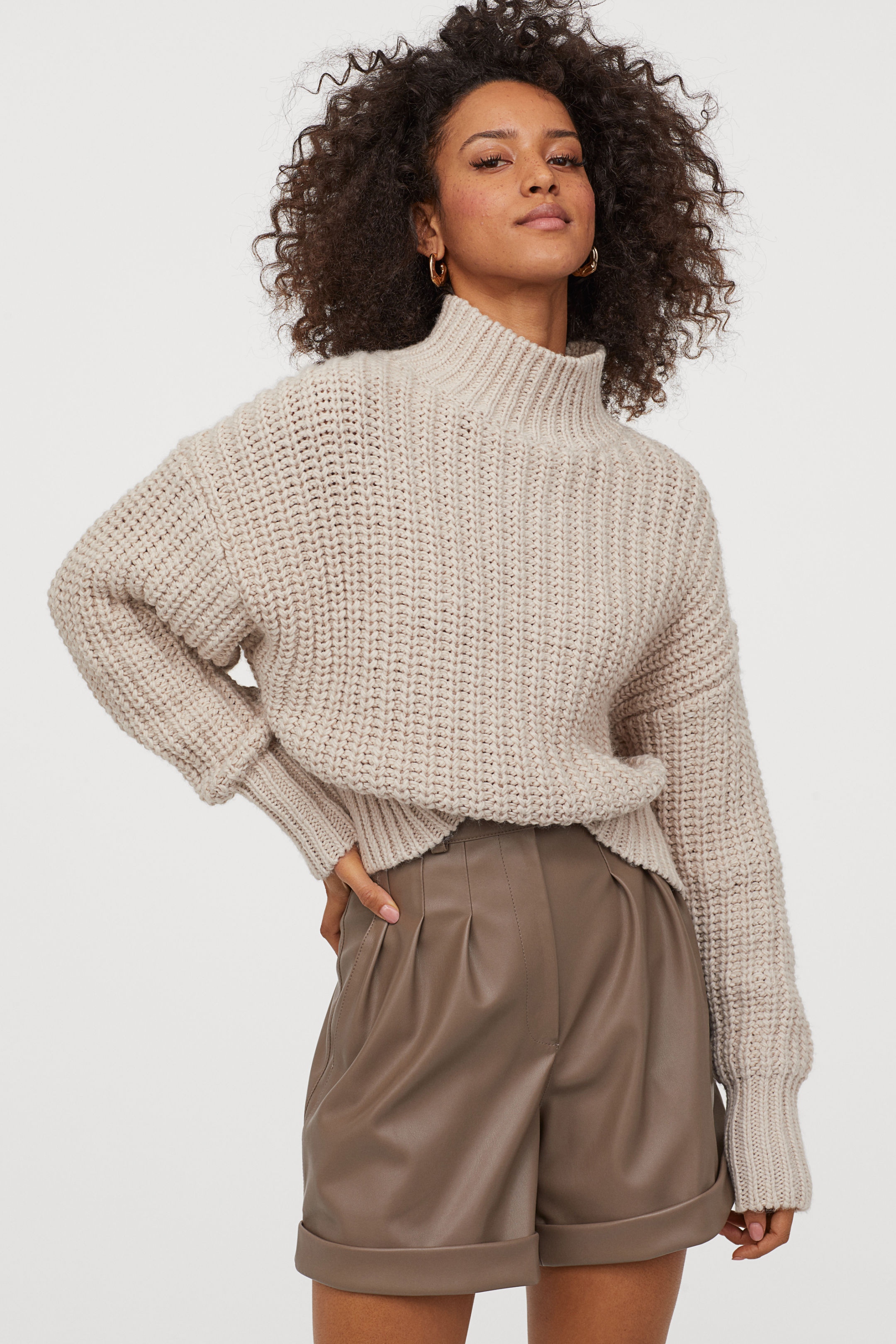 Thick Knitwear Sweater