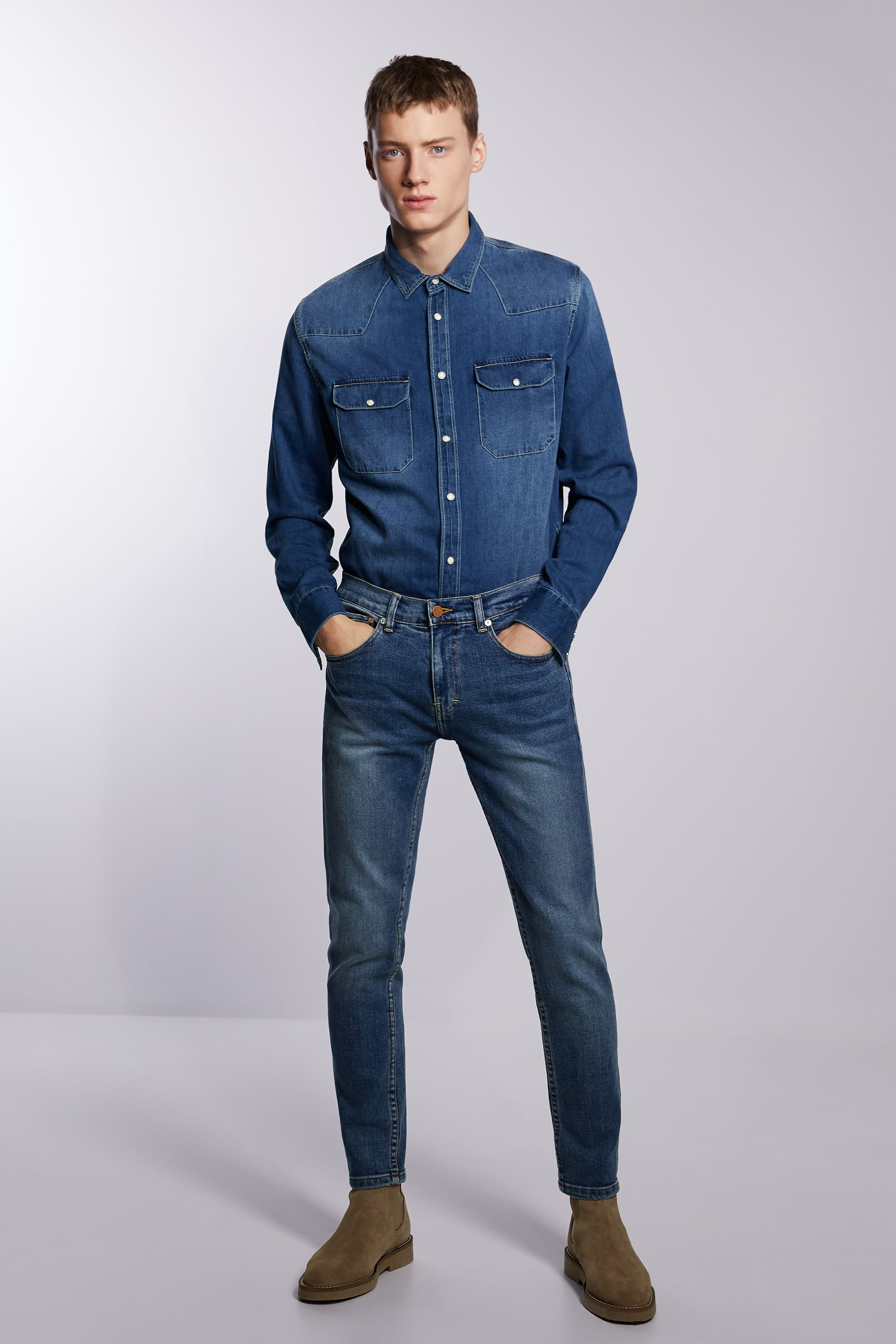 BASIC SLIM FIT JEANS