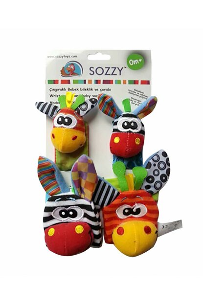 Sozzy Toys Rattles Baby Wristband and Socks / SOZ-SZY101