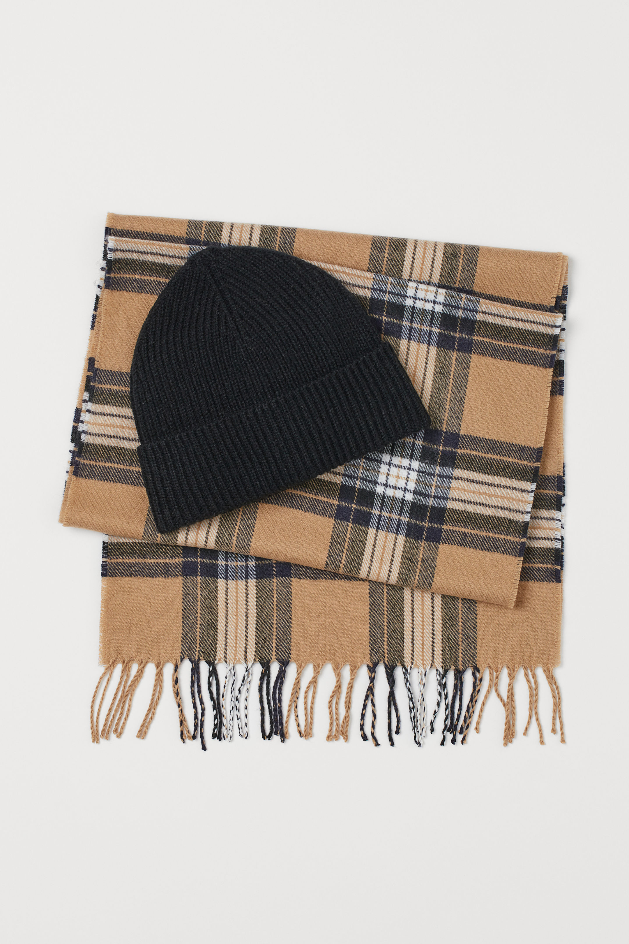 Beret and Scarf