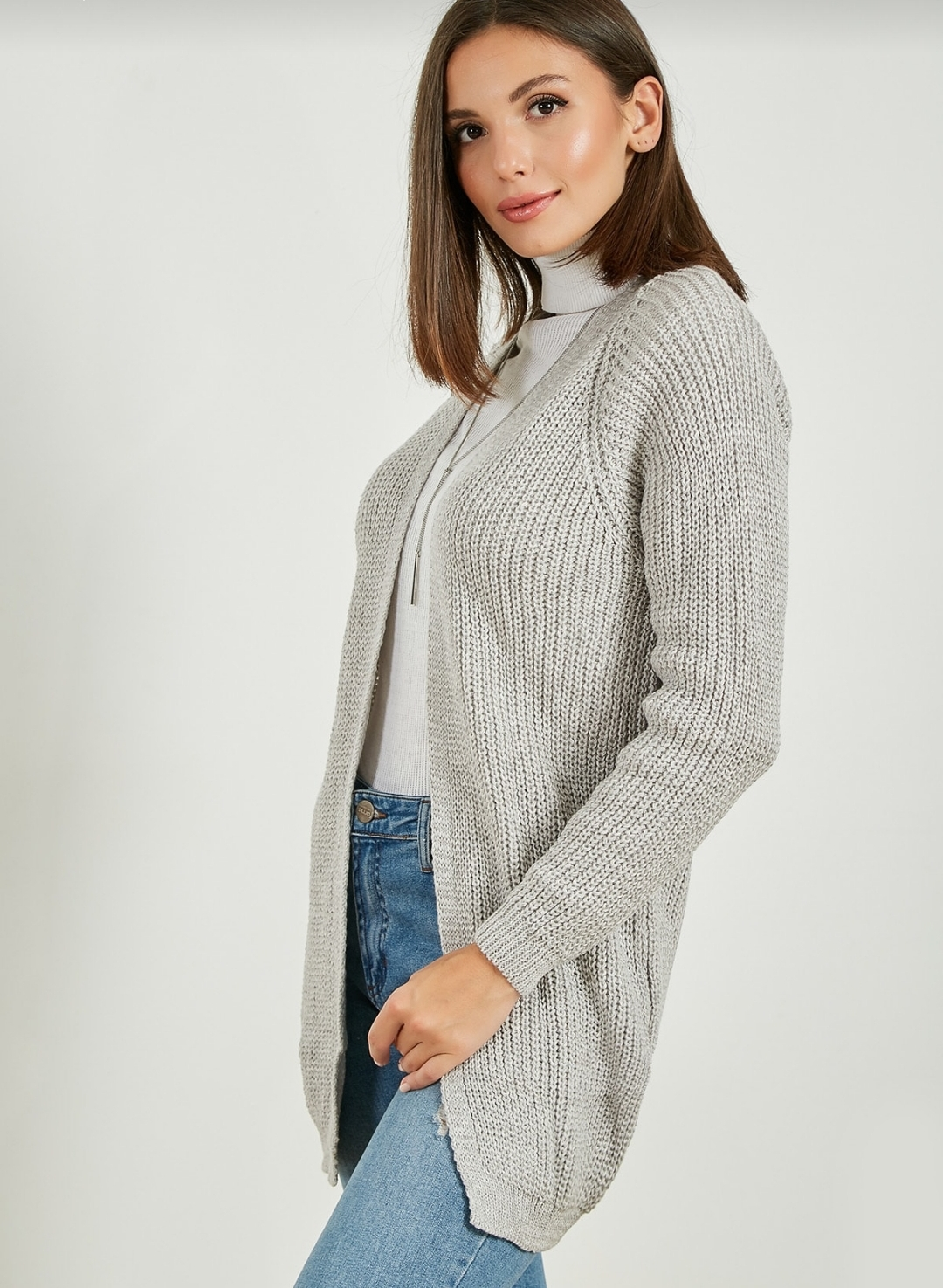 Straight grey Sweater