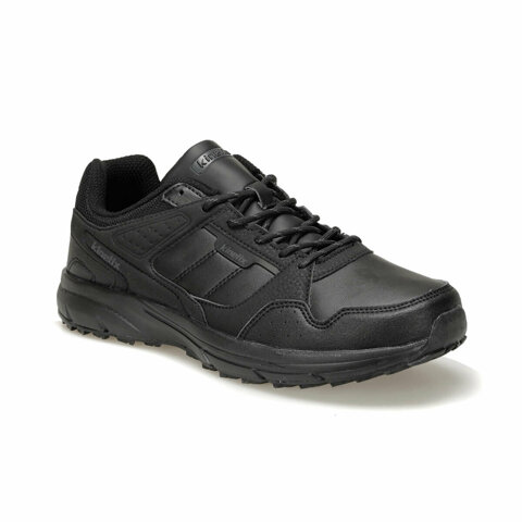 Hill PU 9PR Black Men's Running Shoe