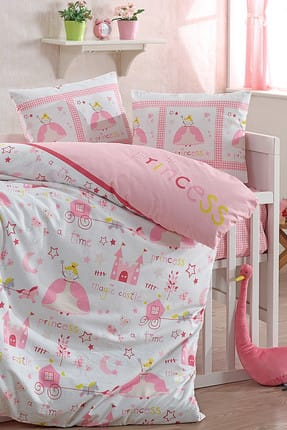 Baby Class 100% Cotton Baby Duvet Cover Set PERİ
