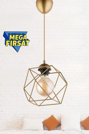 Fer Single Pendant Chandelier Tumbled ASY040