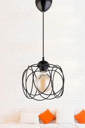 ASIA Single Pendant Light BLACK ASY037