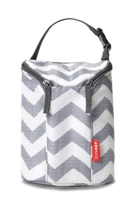 Grab And Go Double Bottle Bag Gray IB02168