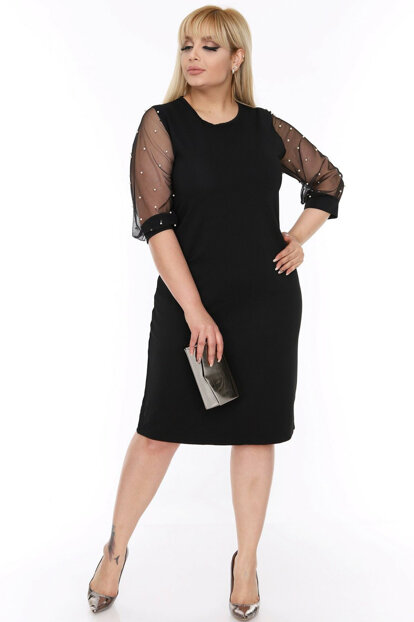 Women's Dress With Handles Pearls 6A-69340 17885