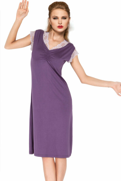 Long Combed Nightgown 001-018733