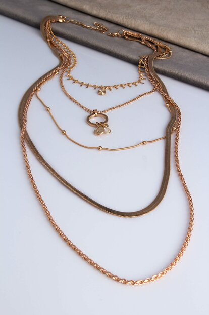 Chain Combined Necklace AK4000002707