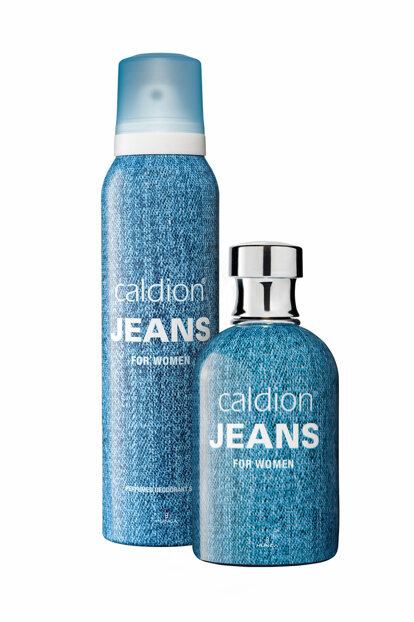 Jeans 100ml + 150ml Deodorant Women Perfume Set 8690973028327