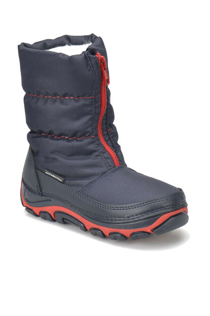 Navy Blue Boys Winter Boots 000000000100287682